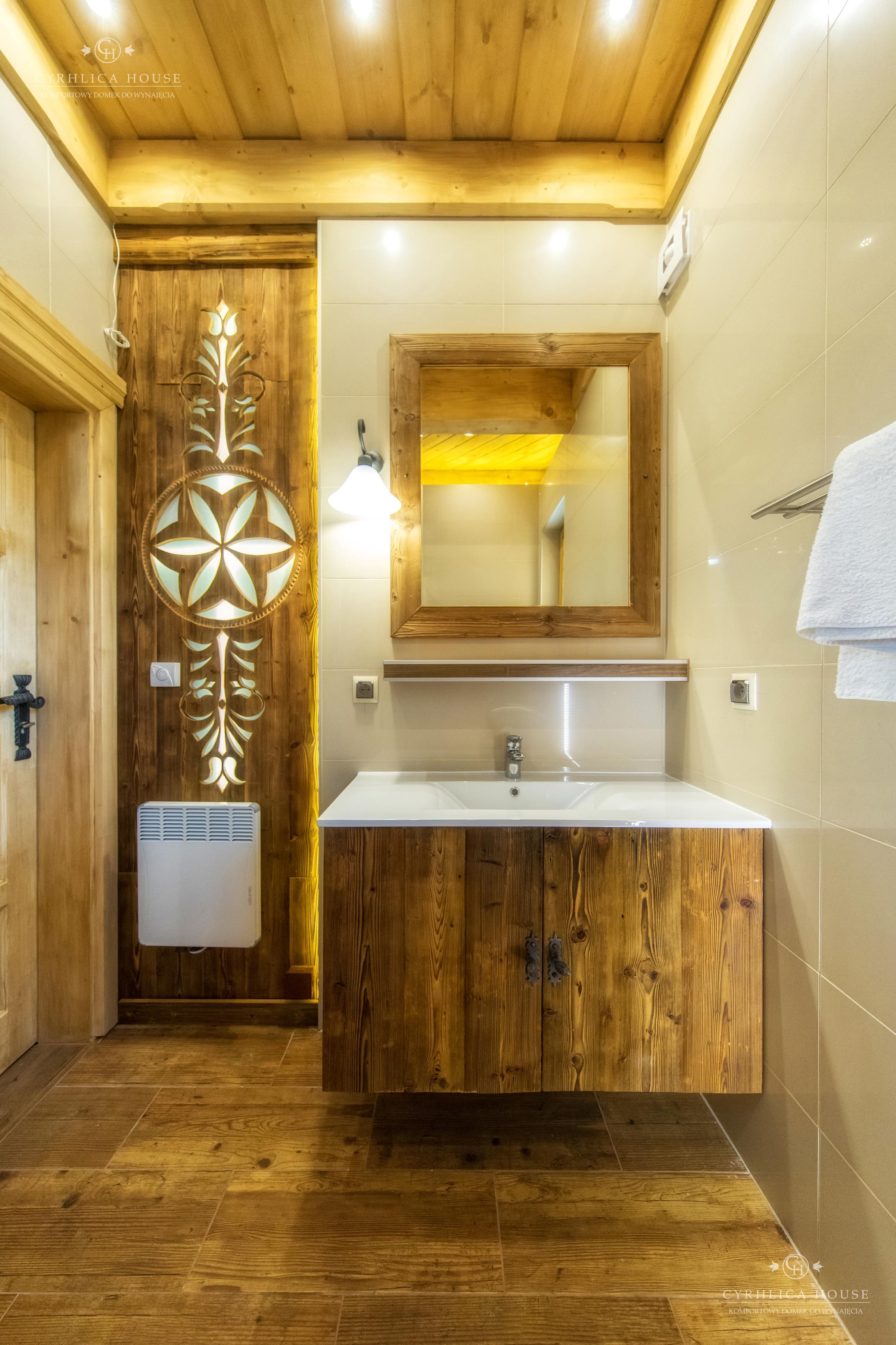 Preferowane Łazienka w Komfortowym domku z kominkiem- Zakopane jest blisko KI-89